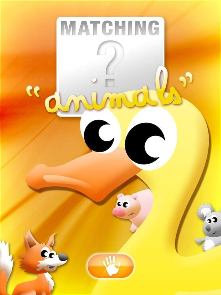Animals' Matching for iPad 1-0