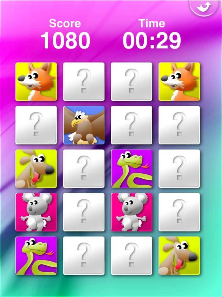 Animals' Matching for iPad 4-0