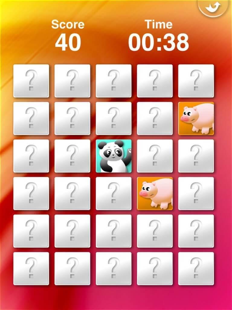 Animals' Matching for iPad 5-0