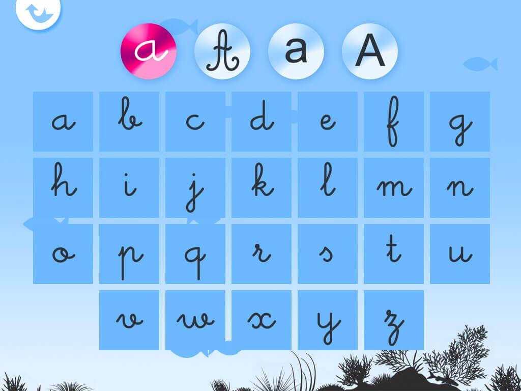 Write the alphabet - Alexandre Minard - Screenshot iPad 03