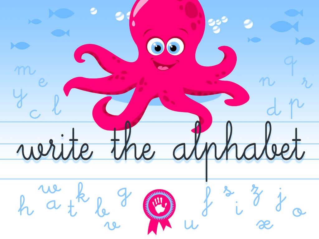 Write the alphabet - Alexandre Minard - Screenshot iPad 05